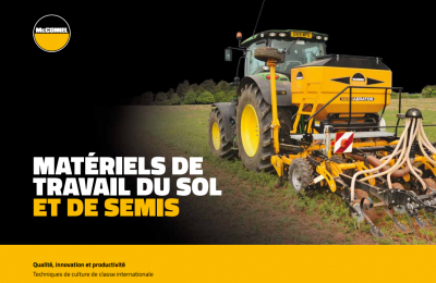 Cultivation, Seeding & Rollers Brochure - French