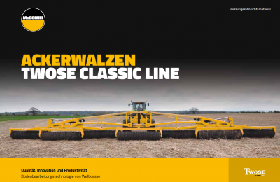 Cultivation, Seeding & Rollers Brochure - German