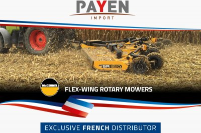 McConnel teams up with ETS Payen in Exclusive French Distribution Deal