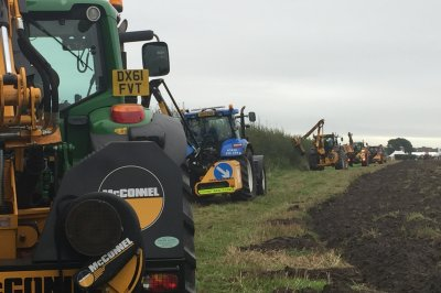 Dominant performance from McConnel machines as contractors battle for hedge-cutting honours