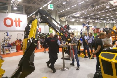 Swiss show success as record numbers check out McConnel's latest tech