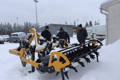 Arctic blast can't put the freeze on McConnel machines