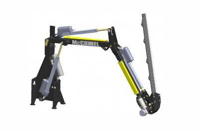 World-first for McConnel as new all-electric Power Arm revealed at Agritechnica 2017